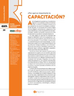importante la capacitación Conexion UDLAP