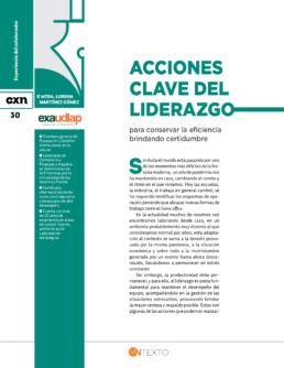 Acciones clave del liderazgo Conexion UDLAP