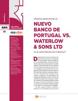 Nuevo Banco Portugal Waterlow Sons LTD Conexion Universitaria