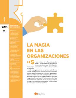 Magia en las organizaciones Conexion UDLAP